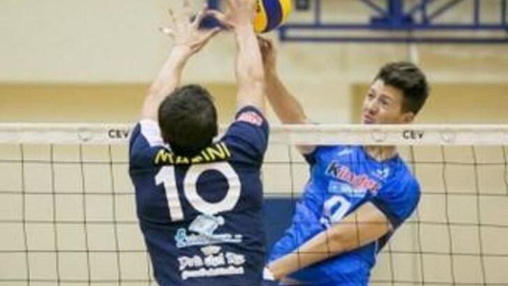 Volley Superlega: Davide Esposito, giovane centrale per Barbiero