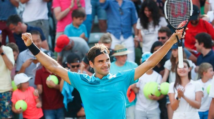Stoccarda: Federer accede in finale e torna n.1 al mondo