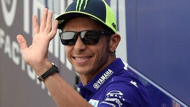MotoGp Catalogna, Yamaha, Rossi: «Le gomme sono sbagliate»