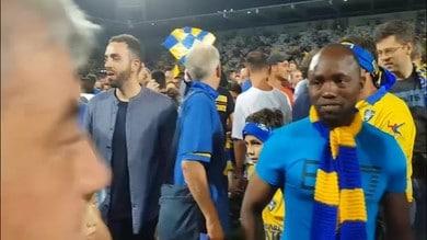 Frosinone in Serie A, la gioia sfrenata dei tifosi