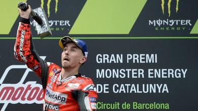 MotoGp Catalogna, Lorenzo: «In breve tempo è cambiato tutto»