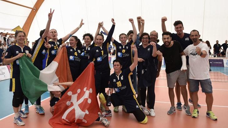 Sitting Volley: Apd Fonte Roma Eur e Dream Volley Pisa tricolori