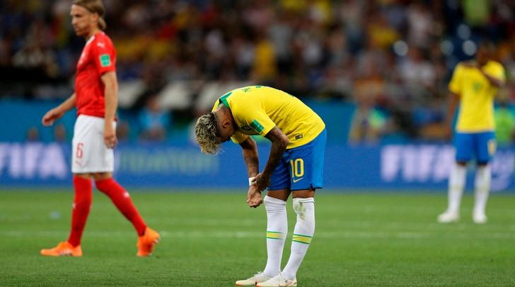 Mondiali 2018, Gruppo E: Brasile-Svizzera 1-1: Neymar stecca la prima