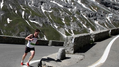 Sole, emozioni e fatica per la Stelvio Marathon