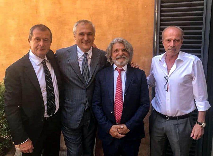 Calciomercato Sampdoria, ufficiale: ha firmato Sabatini