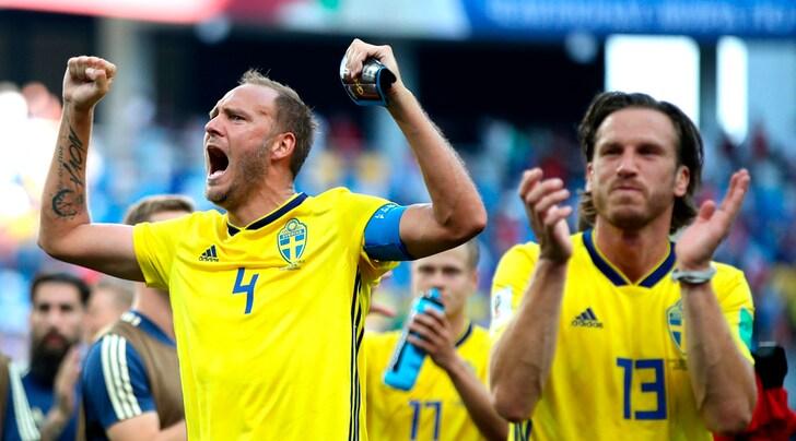Svezia-Corea del Sud 1-0, rigore col Var: decide Granqvist