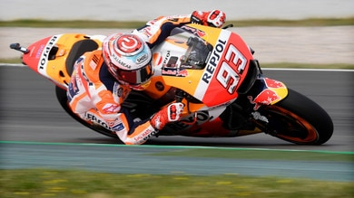 MotoGp, test Barcellona: Marquez primo, 14° Rossi