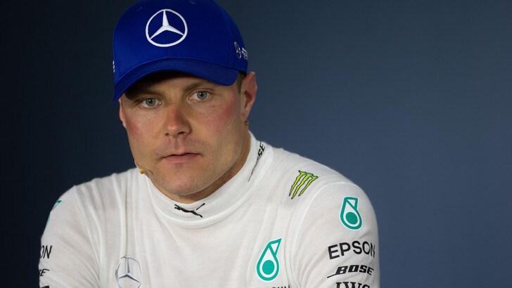 F1 Mercedes, Bottas: «Abbiamo bisogno di fare progressi con la macchina»
