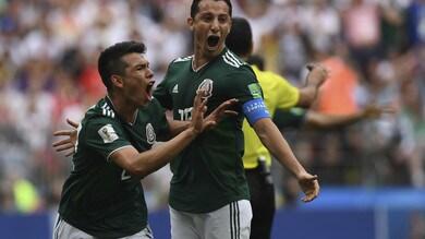 Mondiali 2018, Lozano bomber del Messico a quota 2,25