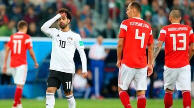 Russia-Egitto 3-1: Salah quasi fuori
