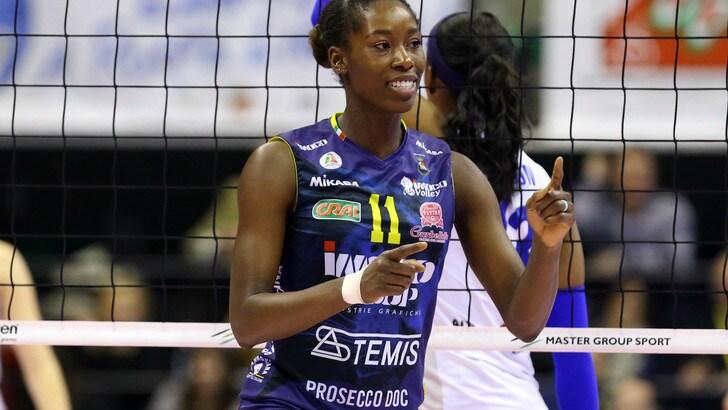 Volley: A1 Femminile, Megan Easy è tornata, sarà ancora