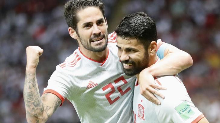 La Spagna batte l'Iran 1-0