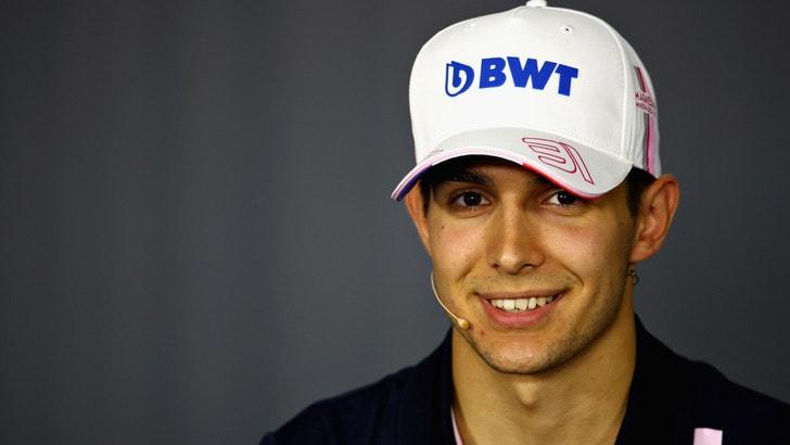 F1 Francia, Ocon: «Gara dopo gara stiamo migliorando»