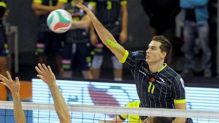 Volley: Superlega, a Milano il francese Luka Basic