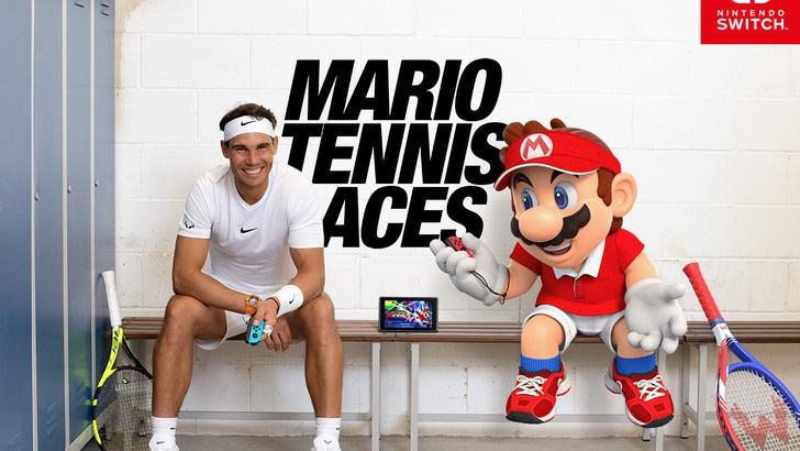 Mario contro Nadal: arriva Mario Tennis Aces!