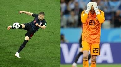 Argentina, Caballero shock: il rinvio è un assist per Rebic!