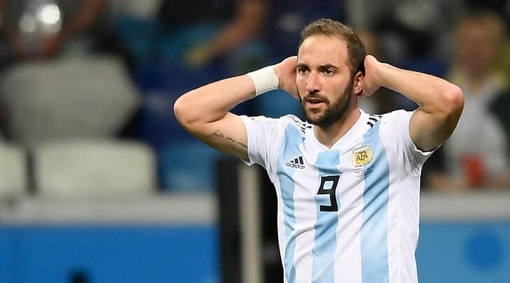 Mondiali 2018, Argentina-Croazia 0-3: Higuain e Dybala quasi eliminati