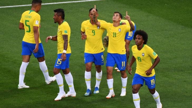 Mondiali 2018, Brasile avanti per statistiche e pronostici