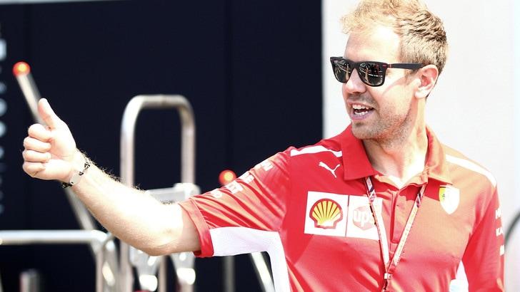 F1 Francia, Vettel: «Finora la macchina è andata bene e siamo soddisfatti»