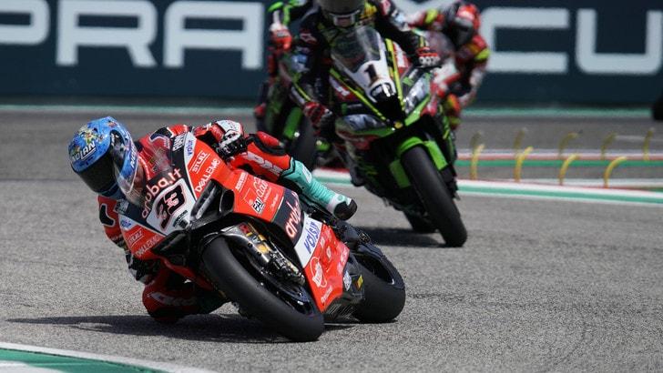 Superbike Ducati, Melandri: «Possiamo essere molto veloci anche a Laguna Seca»
