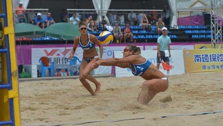 Beach Volley: bene le coppie azzurre a Singapore
