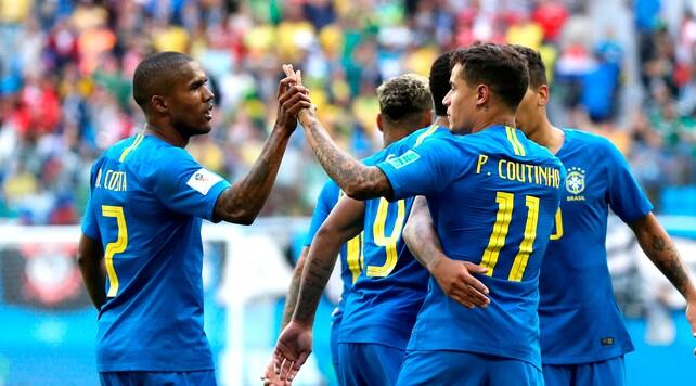 Brasile, Coutinho e Neymar domano la Costa Rica
