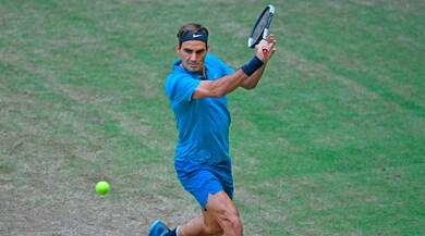 Atp Halle, Federer vola in semifinale