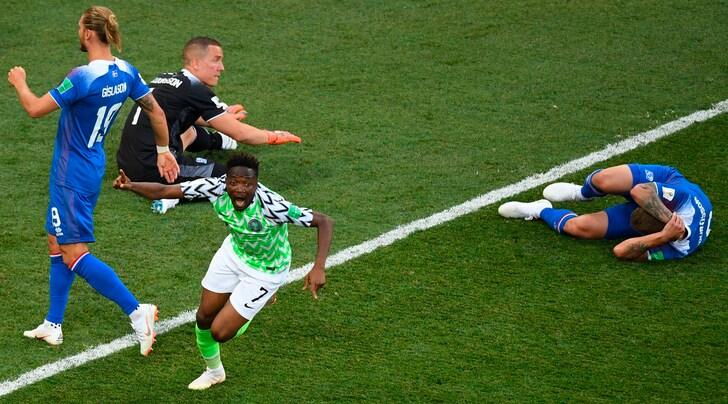 Nigeria-Islanda 2-0: Musa, che spettacolo! Con l'Argentina sarà spareggio