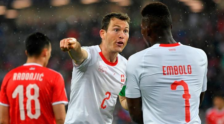 Serbia-Svizzera1-2: Xhaka e Shaqiri, rimonta da urlo!