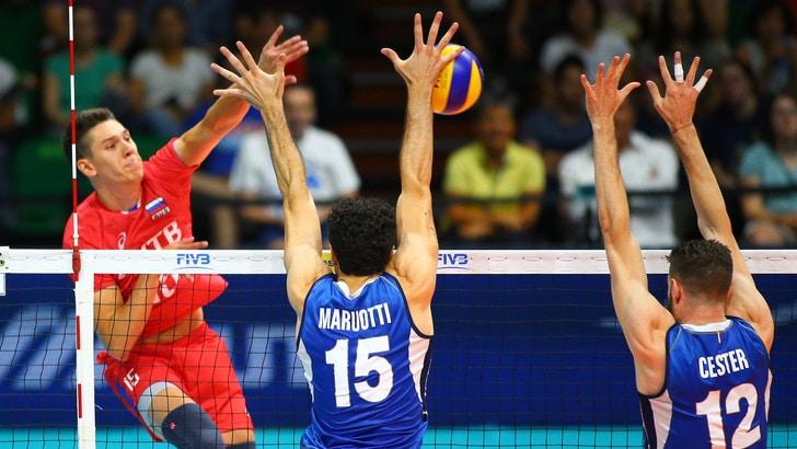 Volley: Volleyball Nations League, la Russia è più forte, azzurri ko