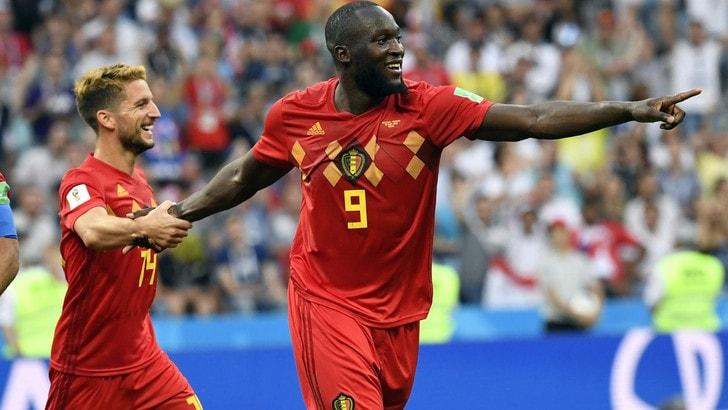 Mondiali 2018, sfida del gol Lukaku-Ronaldo: tripletta del belga a 14,50