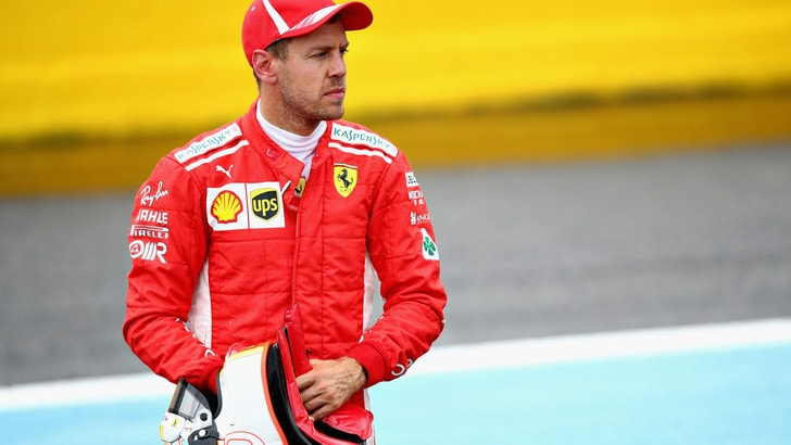 F1 Francia, Ferrari, Vettel: «Spingevo ma ho esagerato»