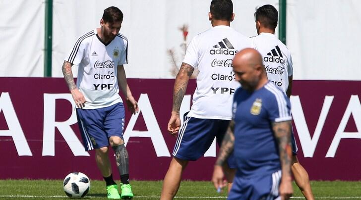 Bufera Argentina: golpe dei giocatori e Sampaoli in un angolo