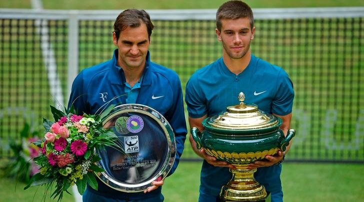 Atp Halle, Federer ko in finale con Coric: Nadal si riprende la vetta del Ranking
