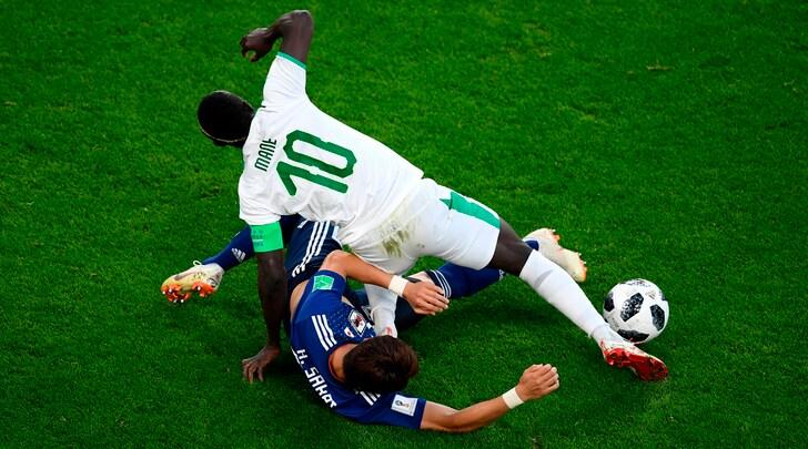 Giappone-Senegal2-2: Inui replica a Mané, Honda a Wague