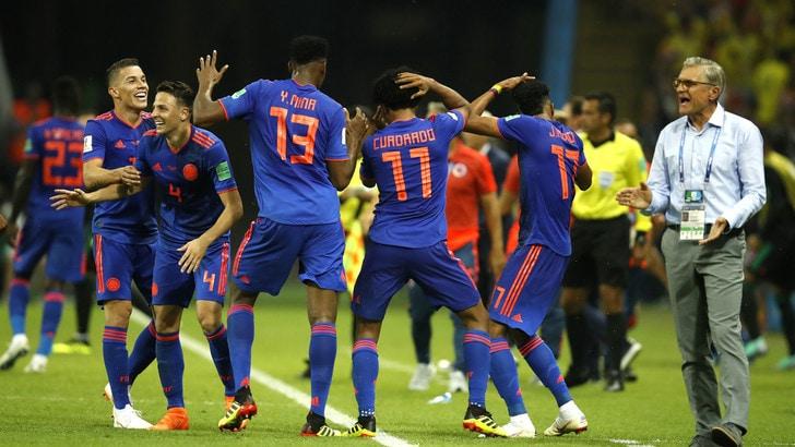 Mondiali 2018, Polonia-Colombia 0-3: festa Cuadrado, Szczesny eliminato