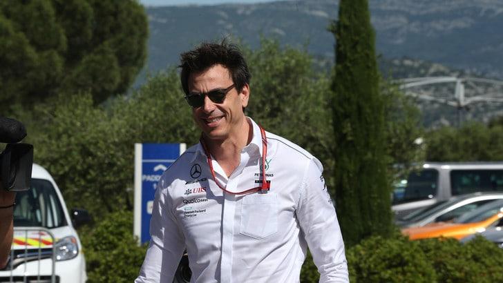 F1 Ungheria, Wolff: «Sarà un'altra battaglia con Ferrari e Red Bull»