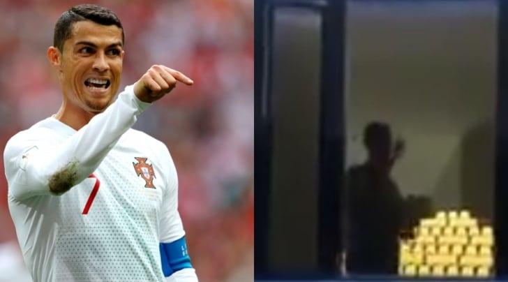 I tifosi dell'Iran non fanno dormire Cristiano Ronaldo
