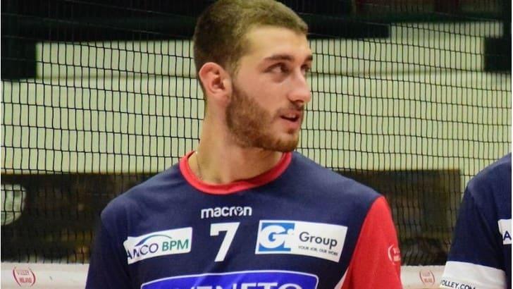 Volley A2 maschile - Arriva dalla Gi Group il nuovo centrale della Messaggerie Bacco