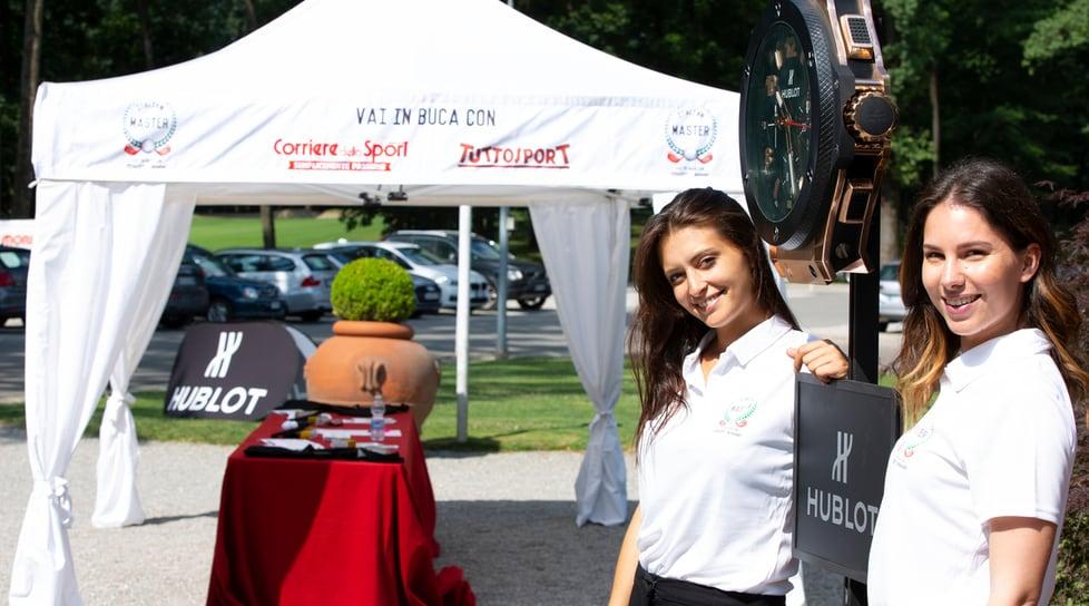 Le foto della seconda tappa disputata al Golf Club Milano. Sponsor di tappa Pisa Orologeria e Hublot