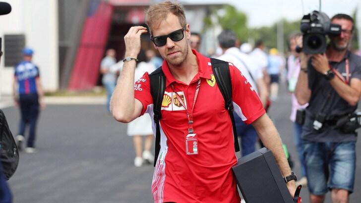 F1 Ferrari, Vettel: «Ci sono poche curve, ma è difficile»
