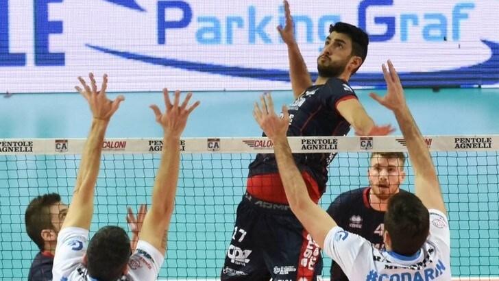 Volley A2 maschile: Damiano Valsecchi vestirà la maglia di Brescia
