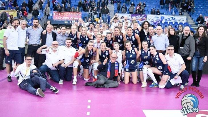 Volley A1 femminile - Volley Pesaro non si iscrive al campionato