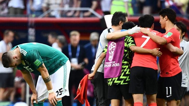 Mondiali 2018, il disastro Germania era pagato a 33