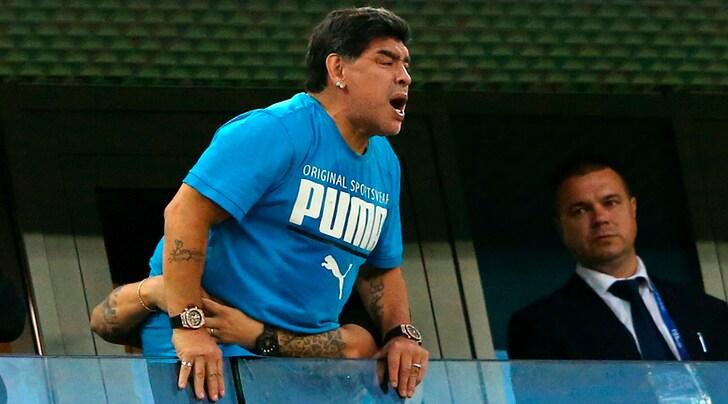 dd651cfdfabf4 Rabbia Maradona  «Io morto  Una menzogna virale» - Tuttosport