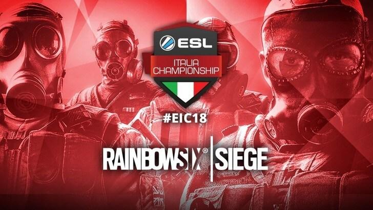 EIC: tutto pronto le per le finali spettacolo di Rainbow Six Siege