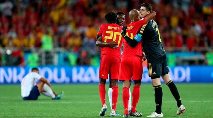 Mondiali 2018, Inghilterra-Belgio 0-1:la firma è di Januzaj