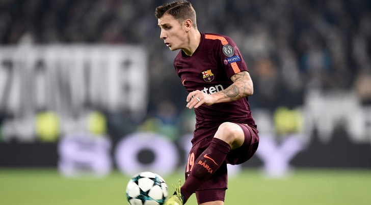 Barcellona, Digne via? In pole c'è la Juventus