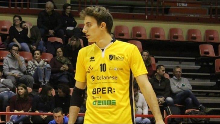 Volley Superlega - Modena: arrivato il libero di San Marino Benvenuti