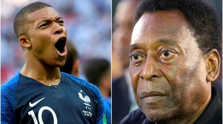 Mondiali 2018, Pelé 'O Rey'incorona il principe Mbappé